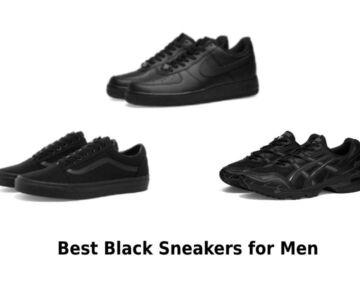 Best Black Sneakers for Men